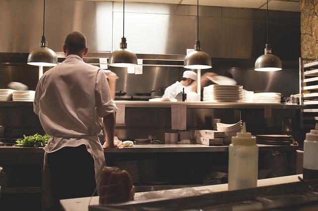 kokke arbejder